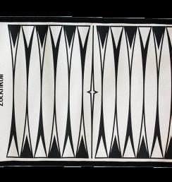 Backgammon curvy